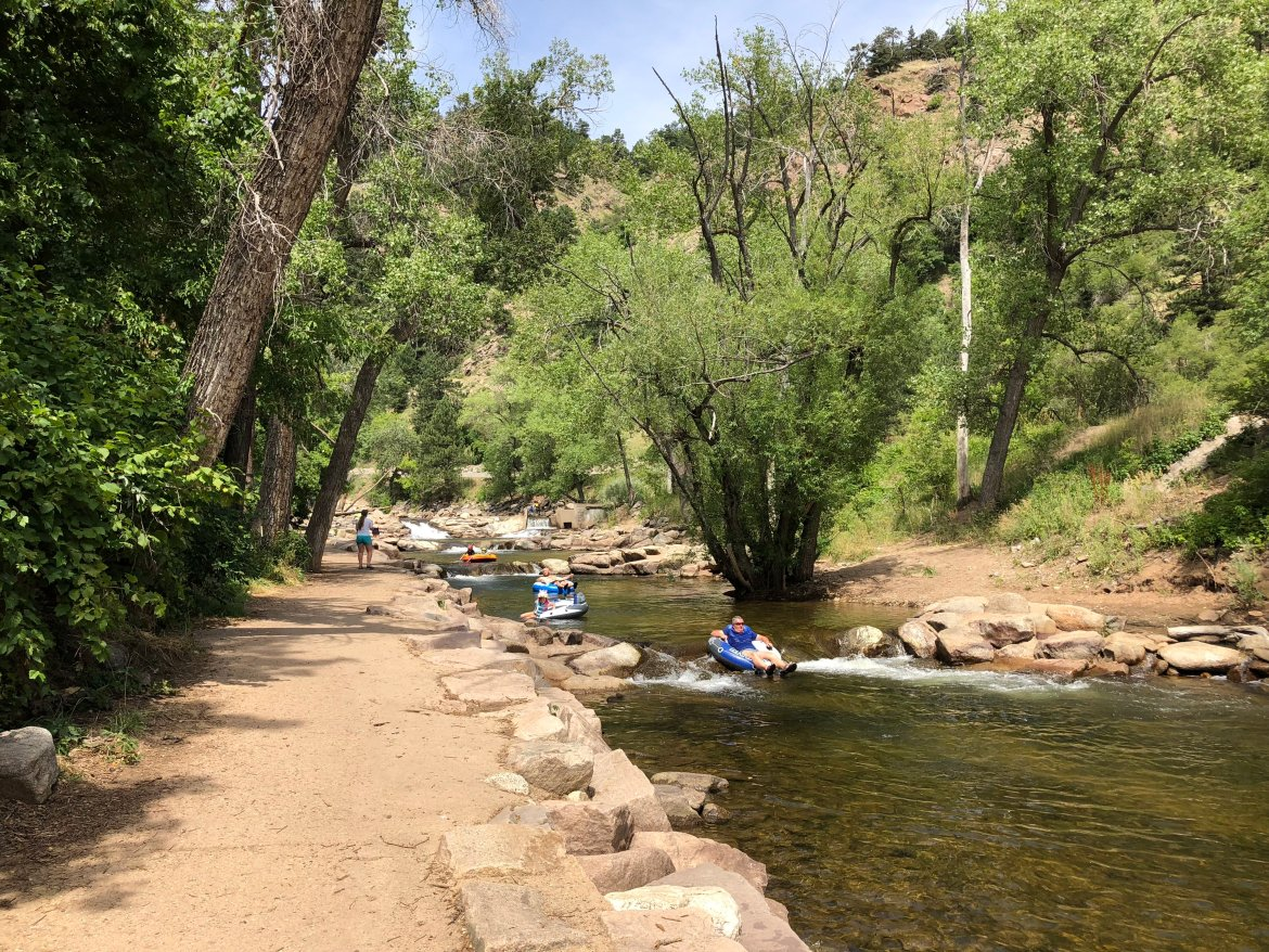 All things boulder tubing down boulder creek