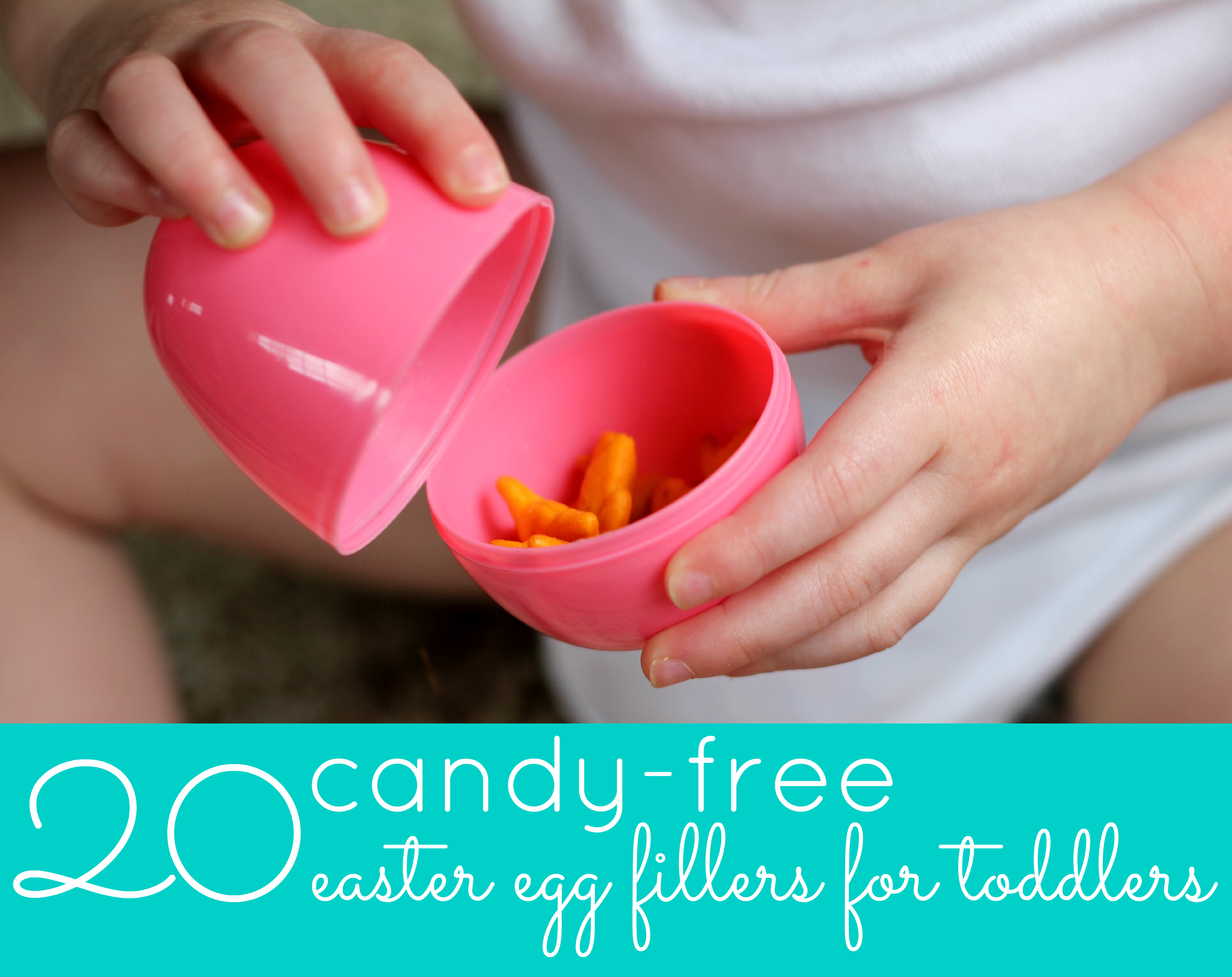 20 Candy Free Easter Egg Fillers For Toddlers