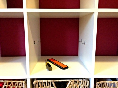 how to add a shelf to an ikea expedit all things g d. Black Bedroom Furniture Sets. Home Design Ideas