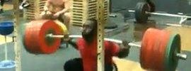 Kendrick Farris Squat 242.5kg x10