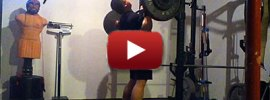 John Phung 255lbs Overhead Press