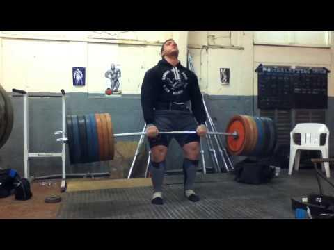 Graham Hicks 350kg Stiff Legged Deadlift - All Things Gym