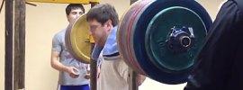Vladislav Lukanin Squat 305kg