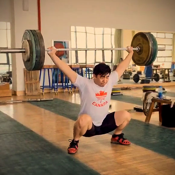 7b12a78a4e83 Larry s Chinese Weightlifting Experience Part 1 - Snatches   Squats ...