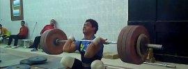 Mohamed Ehab 185kg Clean & Jerk