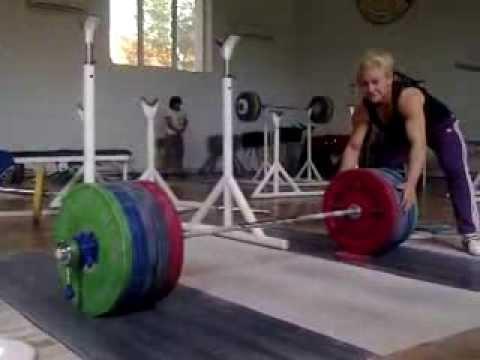 Boyanka Kostova 200kg Squat All Things Gym