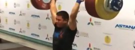 rustem sybay 219 clean jerk