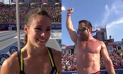2014 Crossfit Games Champions Rich Froning Amp Camille