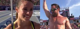 rich-froning-camille-leblanc-bazinet-2014-crossfit-games-champion