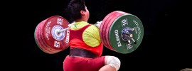 Meng Suping 190kg Clean Bar Bend