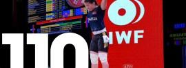 Ankhtsetseg Munkhjantsan 110kg Snatch 2015 Worlds