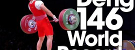 Deng Wei 146kg Clean and Jerk World Record