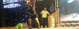 Kianoush Rostami 220kg Clean and Jerk, 395kg Total World Records