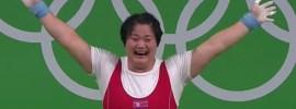 Kim Kuk Hyang 131kg Snatch + 175kg Clean & Jerk 2016 Olympic Games