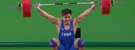 Lu Xiaojun 177kg Snatch World Record 2016 Olympic Games *Super Slow Motion!*