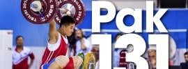 Pak Jong Ju 131kg Snatch + 160kg Clean & Jerk 2016 Junior Worlds