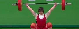 Rim Jong Sim 121kg Snatch + 153kg Clean & Jerk 2016 Olympic Games