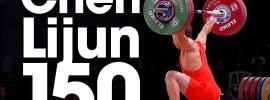 Chen Lijun 150kg Snatch + All Attempts 2015 World Weightlifting Championships