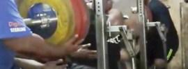 Jezza Uepa 400kg Front Squat 450kg Back Squat