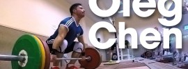 Oleg Chen Training Session Before Russian Nationals