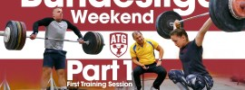 Rebeka Koha & Ritvars Suharevs Bundesliga Weekend Part 1 – First Training Session after Arrival