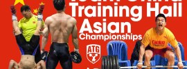 Team China Asian Championship Training Hall 2016