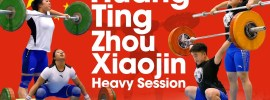 Huang Ting & Zhou Xiaojin Heavy Training Session 2017 Junior Worlds
