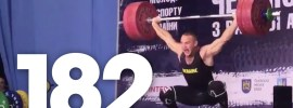 oleksandr-Pielieshenko-182kg-snatch