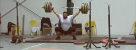Saeid Alihosseini  Back after 8 Year Ban with 210kg Snatch + 253kg Clean & Jerk