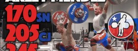 Arley Mendez Perez Heavy Training 2017 Worlds