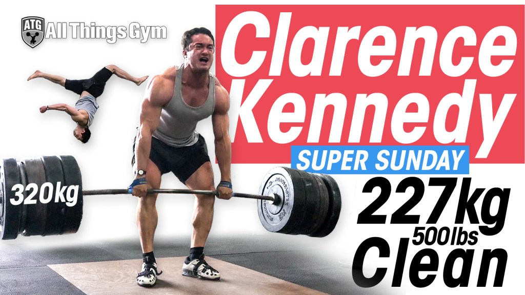 Clarence Kennedy ATG Super Sunday Cover Image