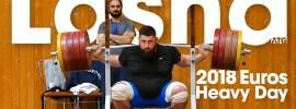 """Lasha Talakhadze's """"Heavy"""" Training Session before 2018 Europeans"""