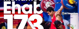 Mohamed Ehab 173kg Snatch World Record 2018 World Weightlifting Championships