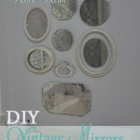 Anthro Inspired Vintage Mirror