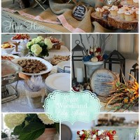 Elegant Woodland Baby Shower