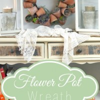 Flower Pot Wreath