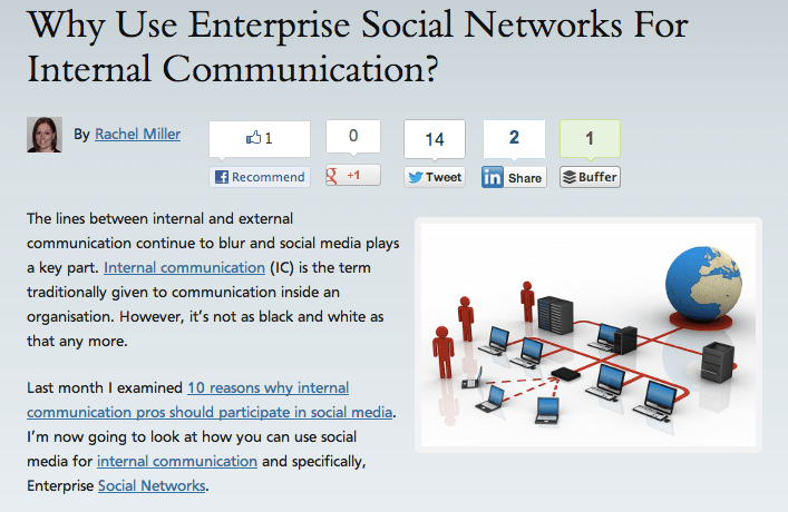 Why Use Enterprise Social Networks For Internal Communication?