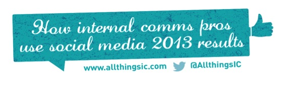 How internal comms pros use social media – the results