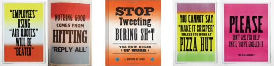 Stop tweeting boring sh*t – the new rules of work