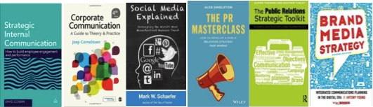 Recommended books for comms pros…
