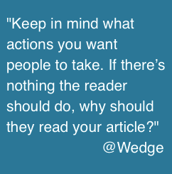 Quote Wedge