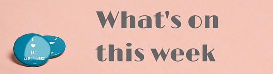 What's on this week for comms pros