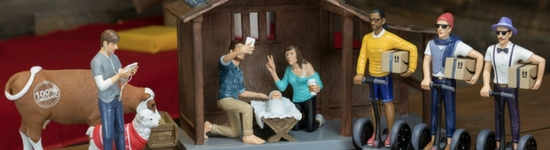 Segways and selfies… an alternative Christmas tale