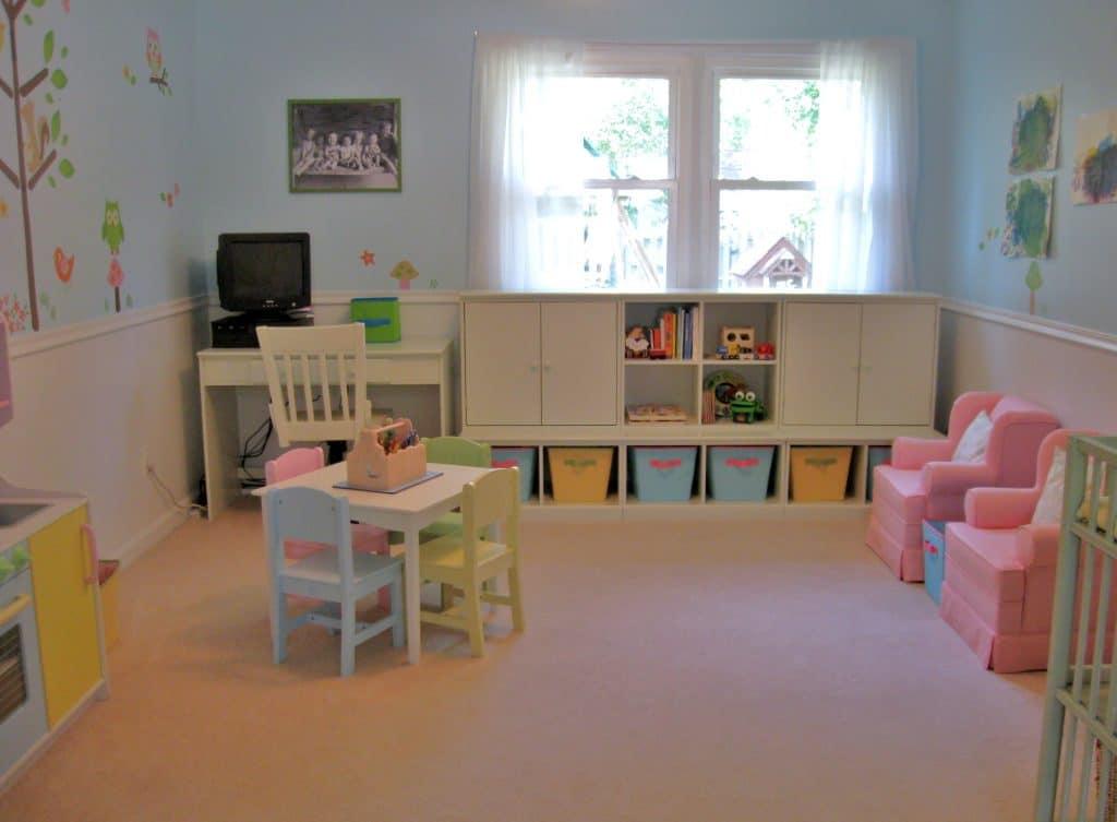 Family Room Toy Storage Ideas
