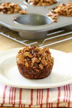 Banana Chocolate Granola Muffins
