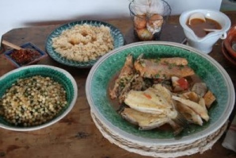 Fish+couscous
