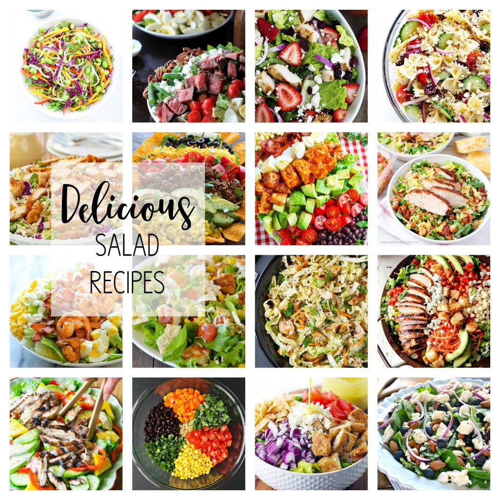 17 Different Salad Recipes All Things Thrifty