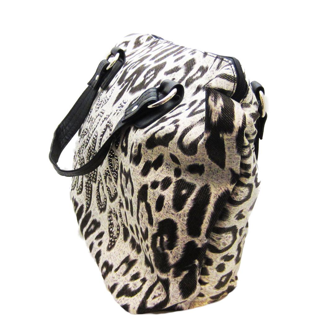 Snow Leopard Canvas Tote Bag