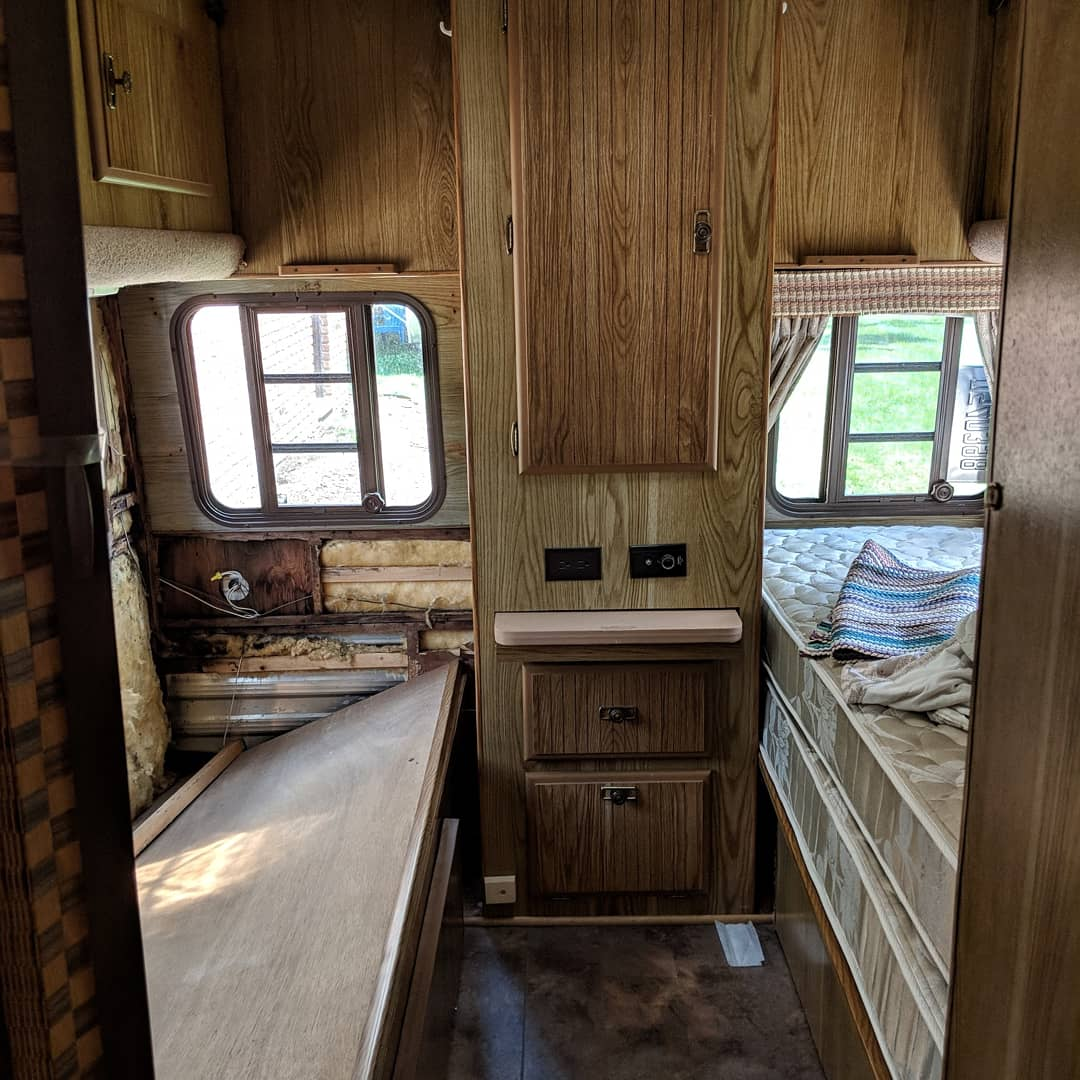 Cost Breakdown For Renovating An Outdated Camper Or Rv