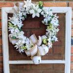 Make This Dollar Tree Rustic Glam Christmas Wreath For Under 10